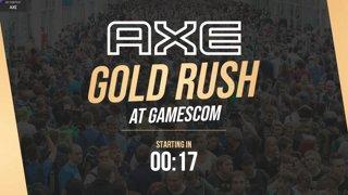 Highlight: AXE Gold Rush @ Gamescom #sponsored