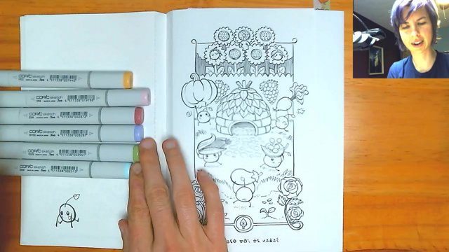 Junimo Coloring Book Autumn Harvest Page