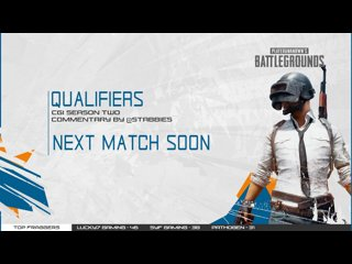 CGi Qualifiers Day 2 - Match 1
