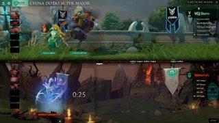 VG.J Storm vs Immortal Game 2 (BO2) l China Dota2 Supermajor - NA Qualifier