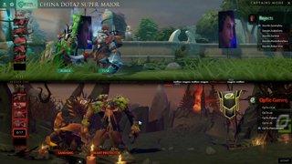 Optic Gaming vs Team Rejects Game 1 (BO2) l China Dota2 Supermajor - NA Qualifier