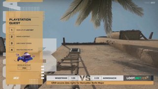 (EN) Winstrike vs Adwokacik | map 2 | Loot.bet/CS Season 3 | by @oversiard & @VortexKieran