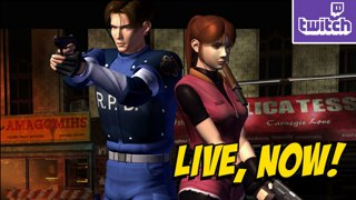 Resident Evil 2 Remake EVE! Playing RE2 on a PS1 then MKX/Blackout Later?! !giveaway ASUS LAPTOP - bit.ly/MAXASUS2019