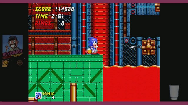 Sonic the Hedgehog 2 (Genesis)!! Zero emulation, streaming from a real cartridge and Genesis!