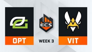 OpTic vs Vitality - Map 2 - Overpass (ECS Season 7 - Week 3 - DAY4)