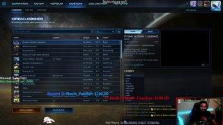 Starcraft 2 Cat n' Mouse into Peepmode 2