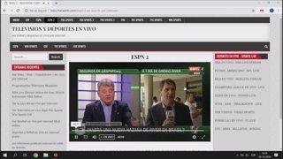 VER CANALES DE FUTBOL EN VIVO - CDF - WIN SPORTS - FOX SPORTS EN VIVO