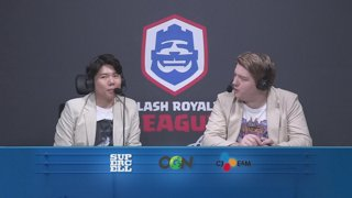 [ENG] Clash Royale League Asia - Week4 Day3