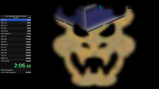 Star Revenge 2: Night of Doom - 90 Star Speedrun in 5:30:37