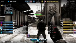 Highlight: iNTACT vs Team Degenerates (ESEA Advanced)