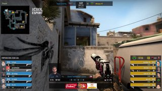 FORTUNA COOL CS:GO Liga - 2. kolo - Moops Academy vs. Team Gravity