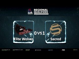 видео: Elite Wolves vs Sacred, 2