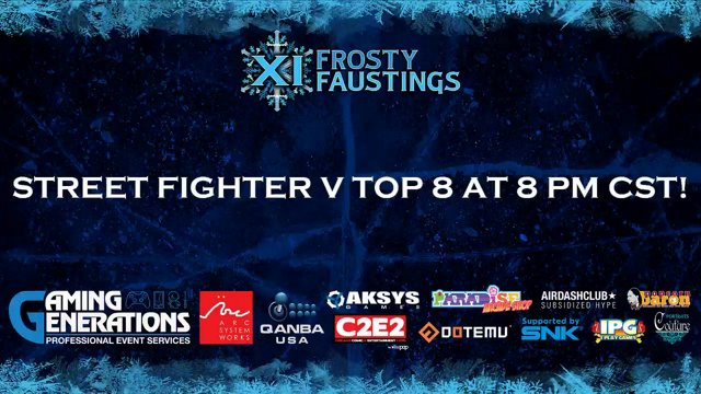 Frosty Faustings XI | Street Fighter V Top 8 | FFXI 2019