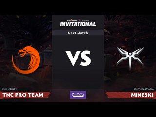 видео: tnc vs mineski, 1