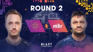 BLAST Pro Series Moscow - Round 2 - NiP vs. MIBR
