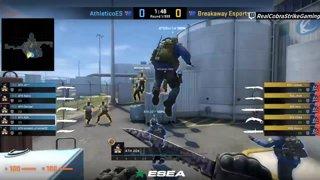 VOD: 📽️ Breakaway vs Athletico - BO1 - nuke [ESEA MDL Season 30 Australia]