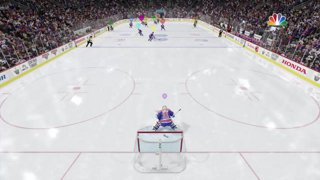 Popeskill Nhl 17 Aggressive Goalie Pass Leads To A Nice Goal Twitch