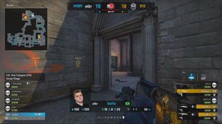 RERUN: Astralis vs. Cloud9 [Overpass] Map 2 - UB Round 2 - ESL One Cologne 2018