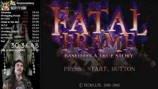 Fatal Frame Any% Normal [PS3] - 1:13:30