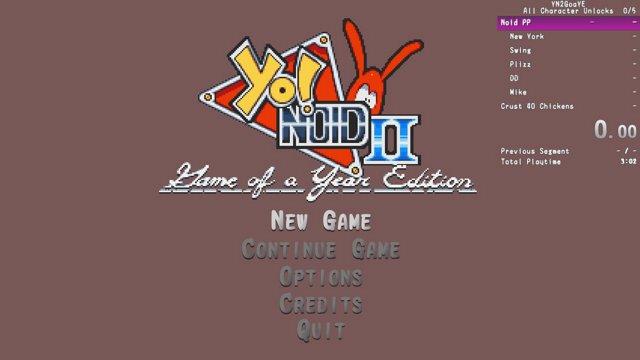 Yo! Noid 2 GoaY All Character Unlocks in 1:16:07