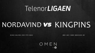 Telenorligaen Høst 2018: CS:GO Runde 2: Nordavind vs Kingpins