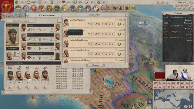First Imperator: Rome Stream Ever