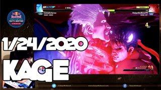 Highlight: 1/24/2020 Street Fighter V カゲ配信 Kage Stream Part 2