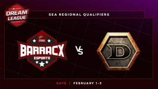 PG.Barracx vs DeToNator Game 3 - DreamLeague S11 SEA Qualifier: Group Stage
