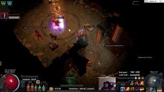 Almost RIP! Weasel confirmed crazy person :D Path of exile POE almost death