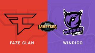FaZe vs Windigo - Group A - Dust2 - CORSAIR DreamHack Masters Dallas 2019