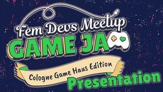 Fem Devs Meetup Game Jam - GAME Presentation