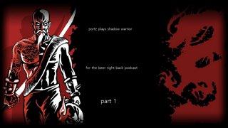 Shadow Warrior   Game Club Episode 1