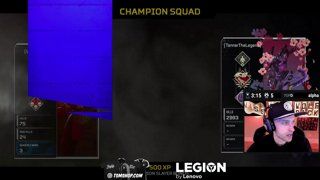 35 Kill Game W/ Tanner Legend Of Leafy Apex Legends!