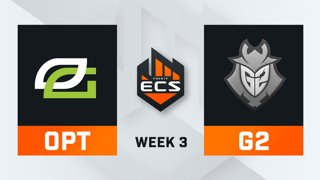 OpTic vs G2 - Map 2 - Dust 2 (ECS Season 7 - Week 3 - DAY1)
