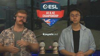 LIVE: ESL AUNZ Championship 2019 - CS:GO: Stage 1, Matchday #4 | pro.eslgaming.com/anz