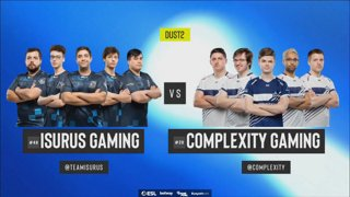 [PT-BR] Isurus vs. compLexity | ESL Pro League 2019 | Dia 14 - [Mapa 3 - DUST2]
