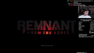 Remnant: From the Ashes Speedrun - New PB! Any% Normal: 1:24:15