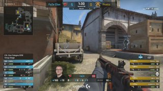 RERUN: Fnatic vs. FaZe [Inferno] Map 3 - UB Round 3 - ESL One Cologne 2018