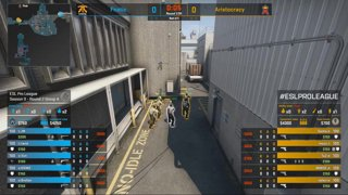 CS:GO - Aristocracy vs. Fnatic [Nuke] Map 1 - Group A - ESL Pro League Season 9 Europe