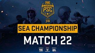 [PSC] [TH] JIB PUBG SEA Championship Phase 3  Game 22