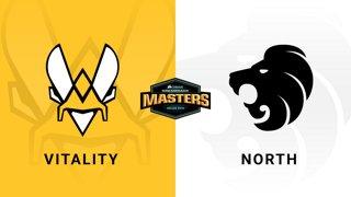 Vitality vs North  - Group A - Overpass - CORSAIR DreamHack Masters Dallas 2019