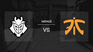 Mirage / Map 1 | G2 Esports vs. FNATIC - IEM Katowice 2019 New Challengers Stage - Runde 4