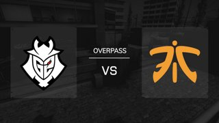 Overpass / Map 3 | G2 Esports vs. FNATIC - IEM Katowice 2019 New Challengers Stage - Runde 4