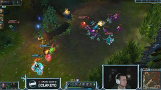 ClakeyD goes in as Tristana
