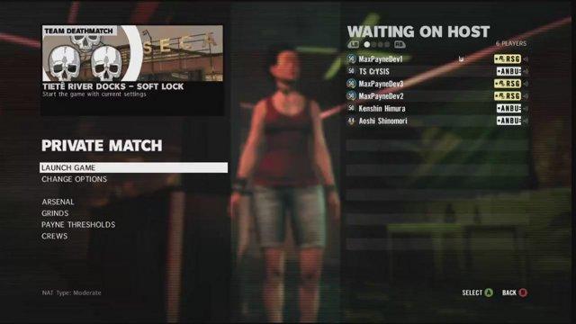 Max Payne 3 Crew Battle: Rockstar vs ANBU