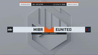 ECS Season 7 - Week 4 Day 2 (Virtus.Pro vs Avangar // MIBR vs EUnited )