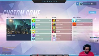 Overwatch Scrims REIGNHARDT IS A MONSTER!