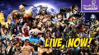Mortal Kombat 9 - PC - Finishing Up Story Mode & Blackout Later(1-3)