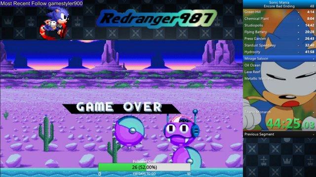 Highlight: Sonic Mania Encore Bad Ending Any%