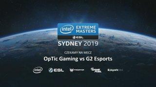 OpTic vs G2   Zamknięte europejskie kwalifikacje IEM Sydney 2019
